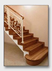 лестница Чистые Ключи. Установлена в Апрелевке