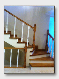 Бетонная лестница Оазис. установлена в Лобне