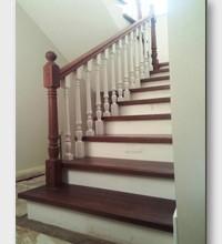 Бетонная лестница Лосиный Остров. Установлена в Щелково