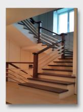 металлическая лестница Ходынские дворики. Установлена в Рязани