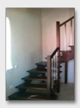 Деревянная лестница Олимпийская деревня
