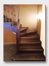 деревянная лестница Жуков