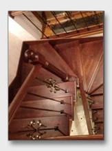 деревянная лестница Вороново