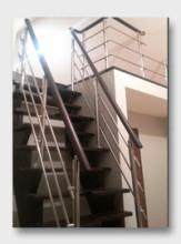 деревянная лестница Видное