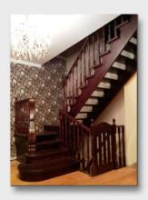 деревянная лестница Чехов