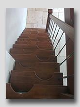 Деревянная лестница Гусиный Шаг 2