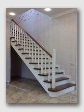 деревянная лестница Акулово. Установлена в районе Одинцово
