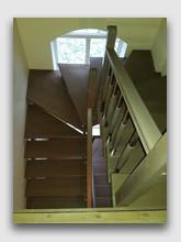 деревянная лестница Доброе. Установлена в районе города Пушкино