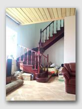 деревянная лестница Железнодорожный