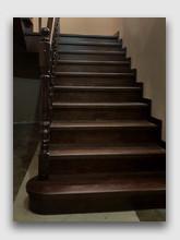 деревянная лестница Кривошеино. Установлено в районе Апрелевки