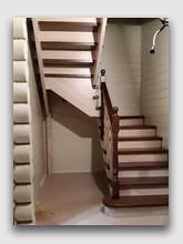 деревянная лестница Кубинка