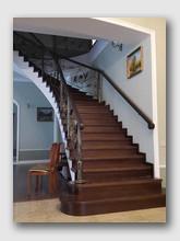 бетонная лестница Новый. Установлена в Апрелевке