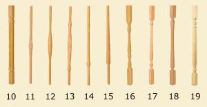 балясины 10-19