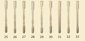 балясины 25-31