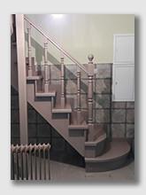 Лестница Солнечная Горка. Установлена в Зеленограде