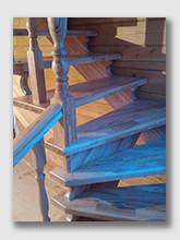 Лестница Корекозьево. Установлена в Калужской области